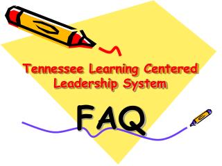 Tennessee Learning Centered Leadership System
