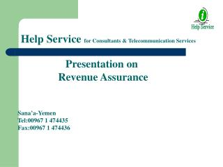 Help Service  for Consultants & Telecommunication Services