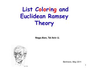List C o l o r i n g  and Euclidean Ramsey Theory