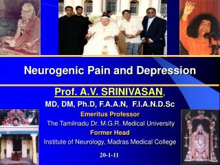 Neurogenic  Pain and Depression