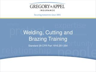 Standard 29 CFR Part 1910.251-254