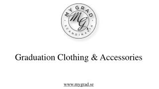 Graduation Clothing & Accessories