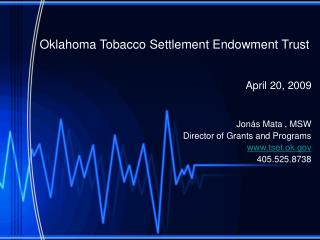 Oklahoma Tobacco Settlement Endowment Trust