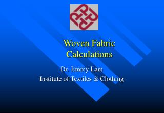 Woven Fabric  Calculations