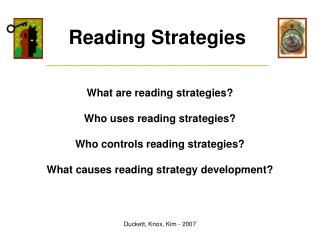 Reading Strategies _____________________________________________