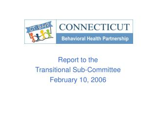 Report to the  Transitional Sub-Committee February 10, 2006