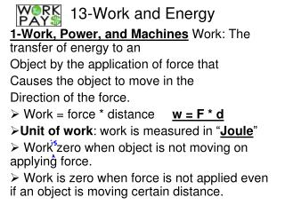 13-Work and Energy