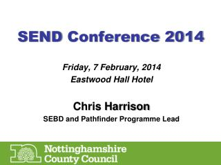 SEND  Conference 2014