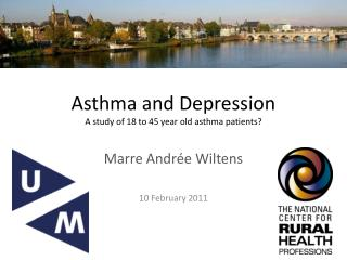 Asthma  and  D epression A  study  of 18 to 45  year old asthma patients ?