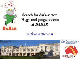 Search for dark-sector  Higgs and gauge bosons at  B A B AR