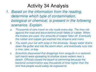 Activity 34 Analysis