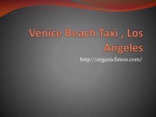 Venice Beach taxi