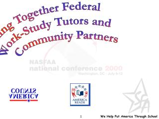 Linking Together Federal  Work-Study Tutors and Community Partners