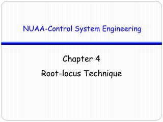 NUAA-Control System Engineering