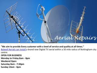 Aerial Installation Nottingham | Bulwell Aerials Installatio