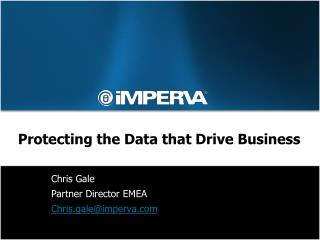 Protecting the Data that Drive Business