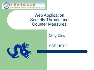 Web Application Security Threats and Counter Measures