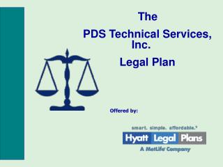 The PDS Technical Services, Inc. Legal Plan