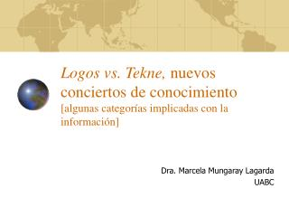 Dra. Marcela Mungaray Lagarda UABC