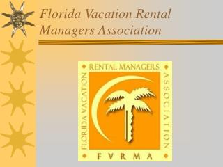 Florida Vacation Rental Managers Association
