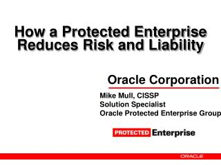 How a Protected Enterprise Reduces Risk and Liability