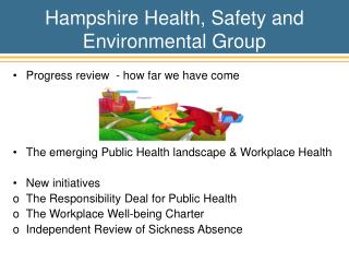 Hampshire Health, Safety and Environmental Group