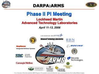 Phase II PI Meeting