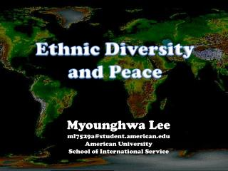 Ethnic Diversity and Peace