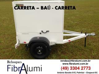 CARRETA - BAÚ - CARRETA