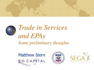 Trade in Services and EPAs  Some preliminary thoughts