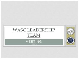 WASC LEADERSHIP TEAM