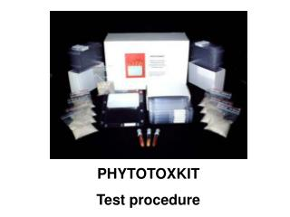 PHYTOTOXKIT Test procedure