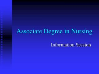 Associate Degree in Nursing
