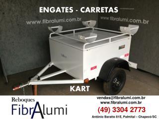 ENGATES - CARRETAS - REBOQUE KART