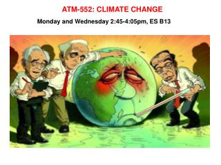 ATM-552: CLIMATE CHANGE