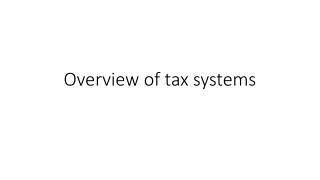 Introduction to the Federal Tax System