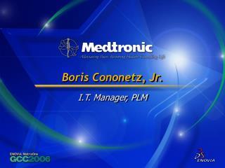 Boris Cononetz, Jr.