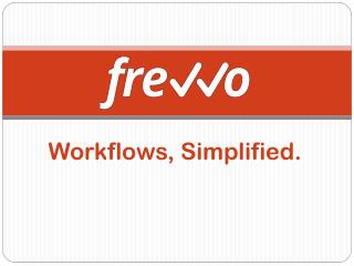Workflows, Simplified.