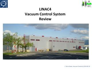 LINAC4 Vacuum Control System  Review