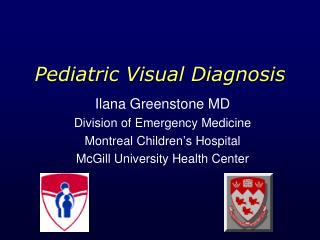 Pediatric Visual Diagnosis