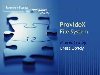 ProvideX File System