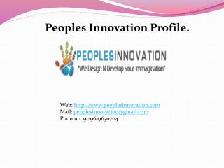 Peoples Innovation Profile.
