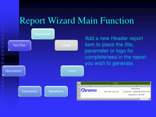 Report Wizard Main Function