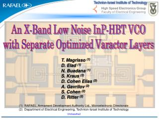 An X-Band Low Noise InP-HBT VCO with Separate Optimized Varactor Layers