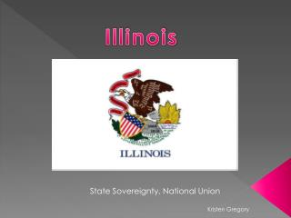 State Sovereignty, National Union Kristen Gregory
