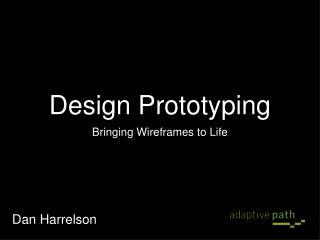 Design Prototyping