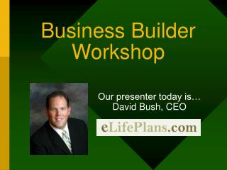 Business Builder Workshop