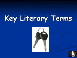 Key Literary Terms