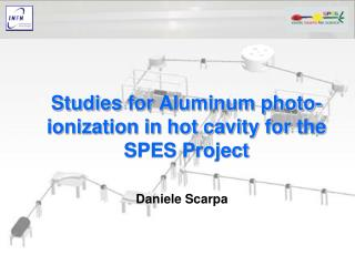 Studies  for Aluminum photo-ionization in hot cavity for  the  SPES Project