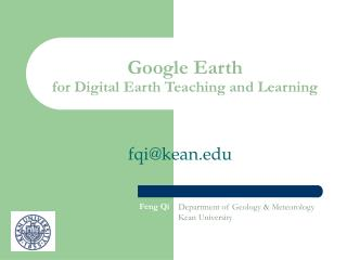 Google Earth for Digital Earth Teaching and Learning